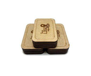 Case Porta Pen Drive Personalizado Kit 10 Unidades