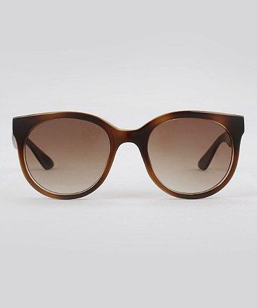 Óculos de sol redondo feminino oneself tartaruga - Revolution Clean fbdcd0604d