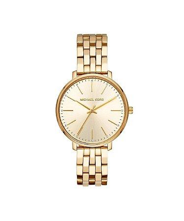 58161cabb5b07 Relógio michael kors feminino pyper dourado mk3898 1dn - Revolution ...