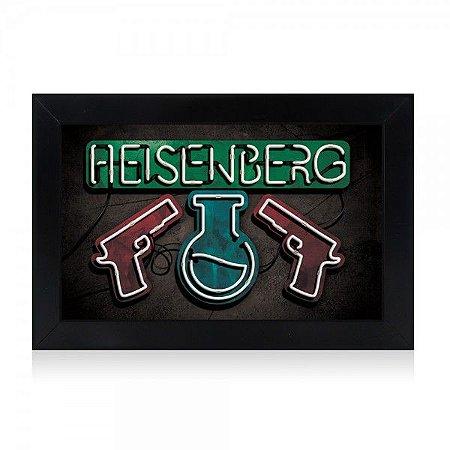Luminária Heisenberg Breaking Bad