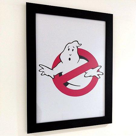 Quadro com moldura Ghostbusters