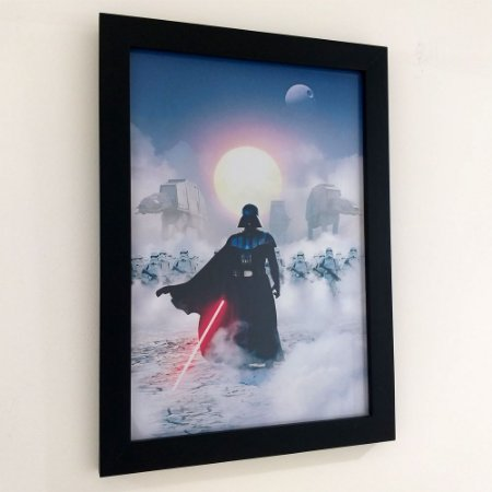 Quadro com moldura Star Wars - Darth Vader