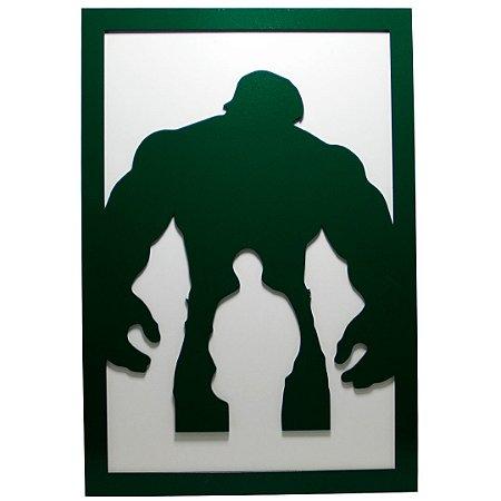 Quadro super herói - Hulk