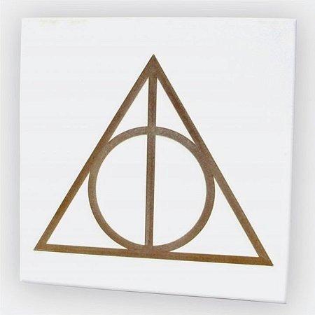 Quadro Harry Potter Relíquias da Morte