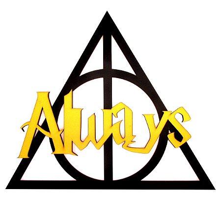 Quadro Harry Potter Always