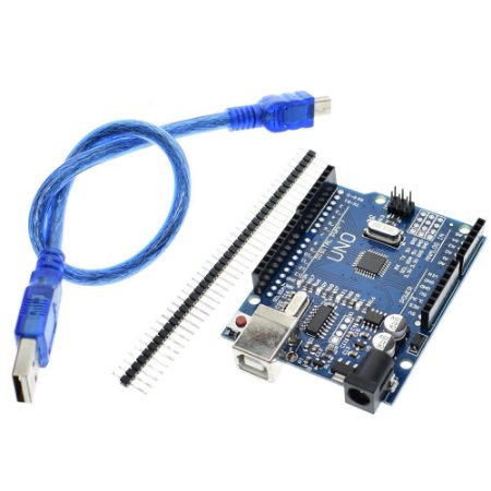 Arduino Uno Rev3 R3 Atmega328 Smd + Cabo Usb + Pinos