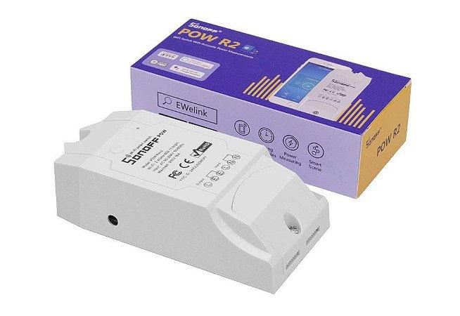 Sonoff Pow R2 Medidor Consumo De Energia Wifi Automação