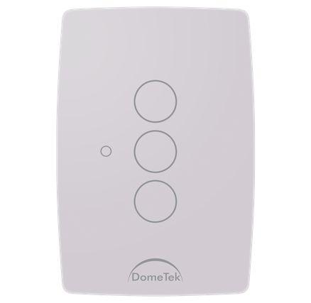 Interruptor Touch 3 Vias Botões Pad Sense Paralelo Three Way - Dometek