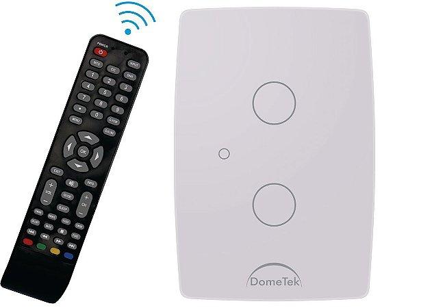 Interruptor Touch Ir 2 Vias Botões Pads Sense Paralelo Three Way - Dometek