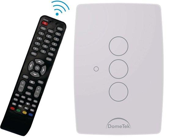 Interruptor Touch Ir 3 Vias Botões Pads Sense Paralelo Three Way - Dometek