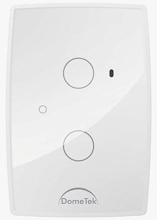 Interruptor Touch 2 Vias Botões Pad Diamond Paralelo Three Way - Dometek