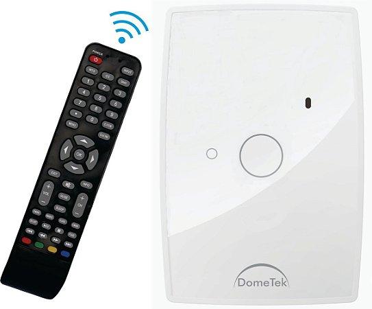 Interruptor Touch Ir 1 Via Botão Pad Diamond Paralelo Three Way - Dometek