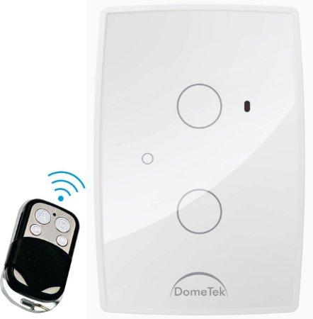 Interruptor Touch Rf 2 Vias Botões Pads Diamond Paralelo Three Way - Dometek