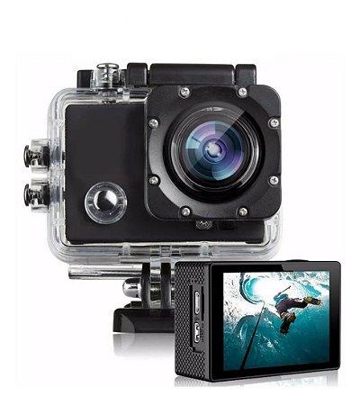 Camera Action Go Sport Pro Lcd Prova D'agua Filmadora