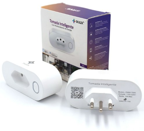 Tomada Inteligente Wifi Smart 16a App Alexa Google Home