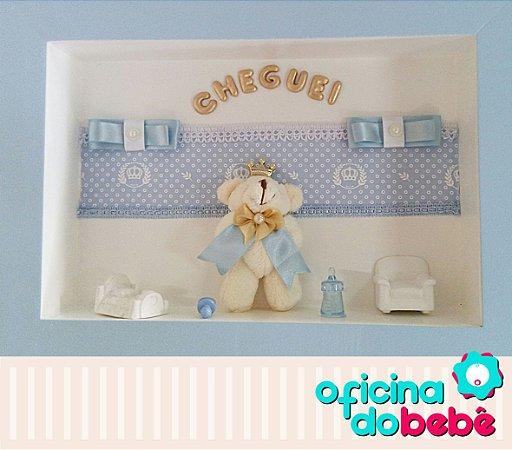 Quadro Enfeite de Porta Maternidade Bebê - 301511