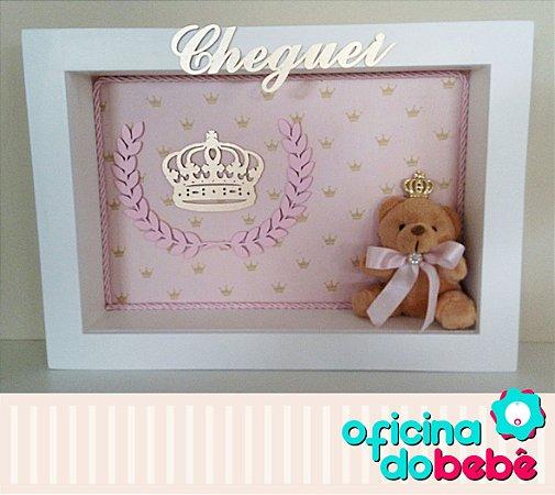 Quadro Enfeite de Porta Maternidade Bebê - 301515