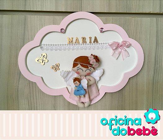 Quadro Enfeite de Porta Maternidade Bebê - 301523