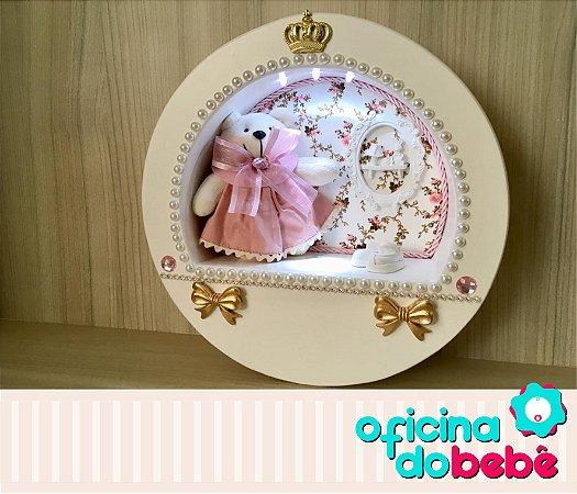 Quadro Enfeite de Porta Maternidade Bebê - 301525