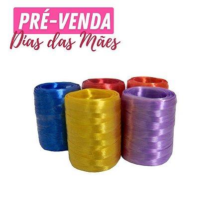 Pré-Venda   Fitilho Colorido Decorativo 4mm X 50m