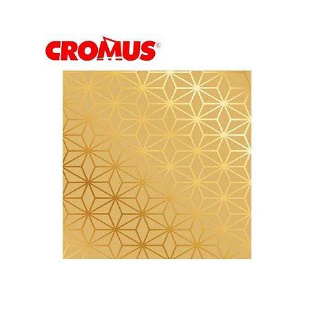 Saco de Presente CROMUS - Arabesco Ouro