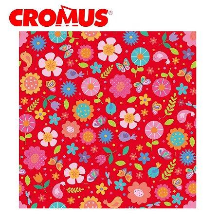 Saco de Presente CROMUS - Jardim Colorido