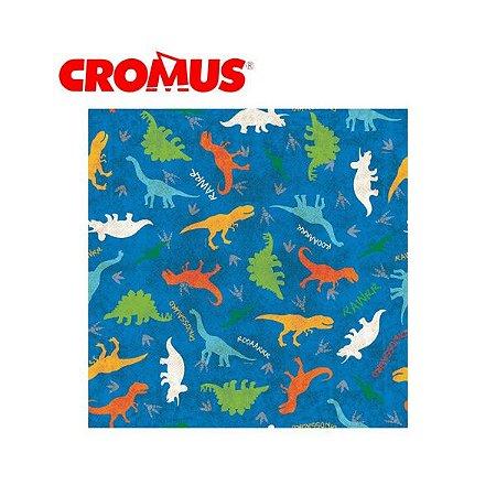 Saco de Presente CROMUS - Jurássico Colorido