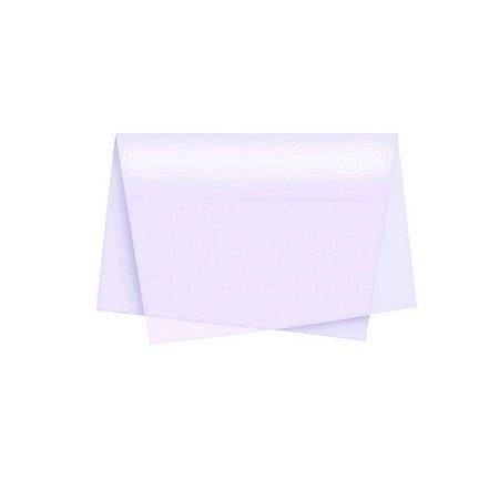 Papel De Seda Branca 48 X 60 C/100 Folhas