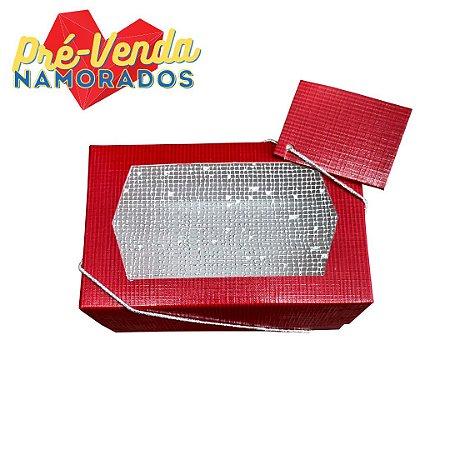 Pré-Venda Namorados | Caixa Retangular Pequena 14x9 - 10un.
