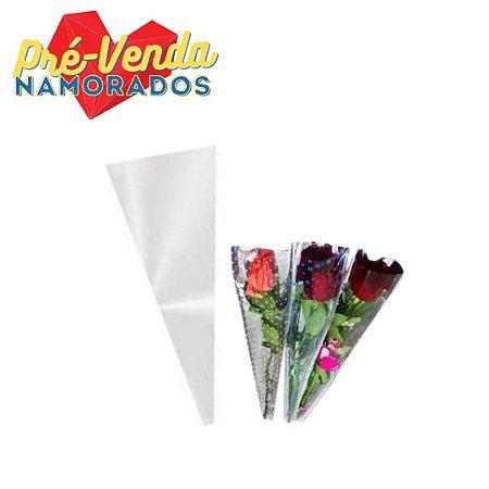 Pré-Venda Namorados | Embalagem Para Flor Unitária (100 unidades)