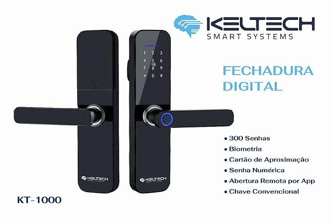 Fechadura Digital  Smart Systems - 300 senhas e WI FI Kt1000