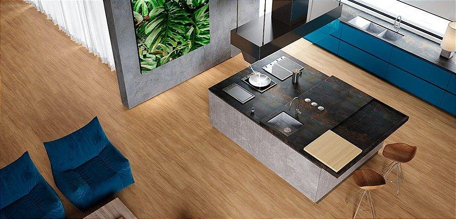 Piso Vinílico LVT Colado Durafloor Urban Sinai 2mm - preço da caixa com 4,3396m²