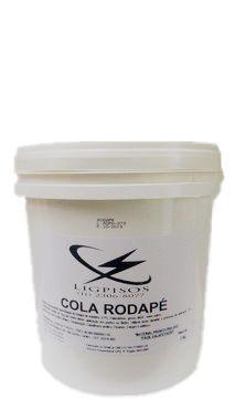 Cola para Rodapé com 05 Kg - balde- Extra Forte