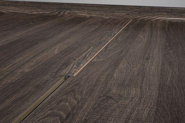 Eucafloor perfil para porta junção mesmo nivel COR n.º 19 -  preço por barra com 1,80 metros lineares