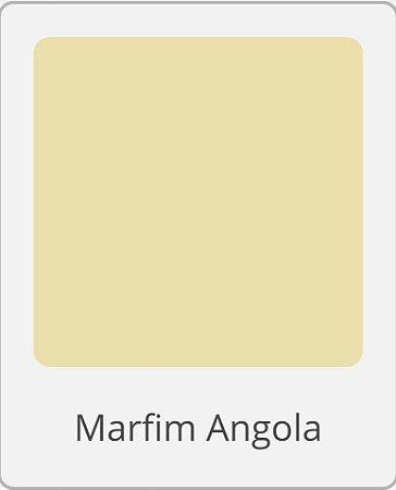 Tinta Acrílica Eucatex Peg & Pinte lt 18 lts Marfim Angola rende até 360 m2 por demão