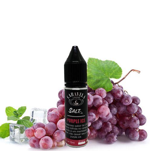 Líquido Caravela Liquids Salt - Purple Ice