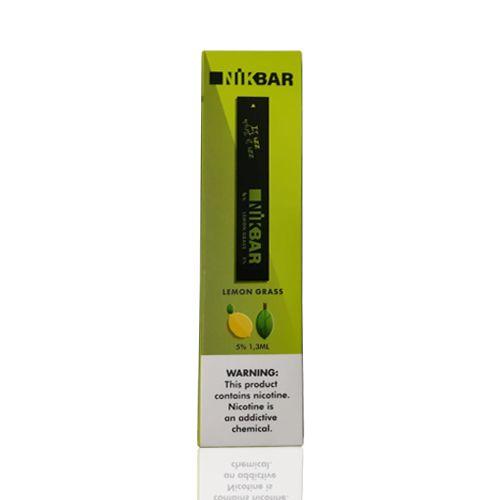 Pod descartável NikBar - 300 Puffs - Lemon Grass