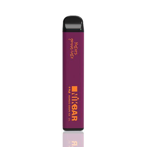 Pod descartável NikBar - 1500 Puffs - Mango Grape Ice