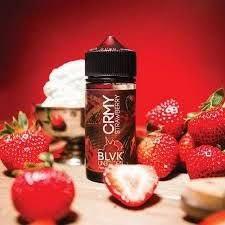 Líquido BLVK UNICORN - CRMY Strawberry - O Melhor Preço é Na Smoke ...