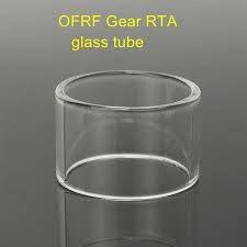 Vidro de reposição OFRF Gear RTA Reto