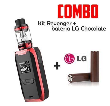 Combo Vape - 1 Kit Revenger + 2 Baterias 18650