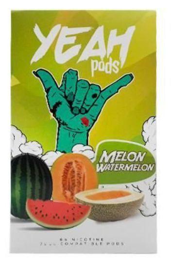 Yeah Pods De Reposição Melon Watermelon - Compatíveis com Juul - Yeah