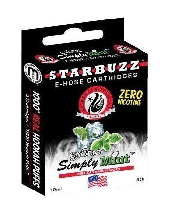 Refil Starbuzz E-Hose - Exotic Simply Mint