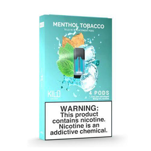 POD Menthol Tobacco - Kilo