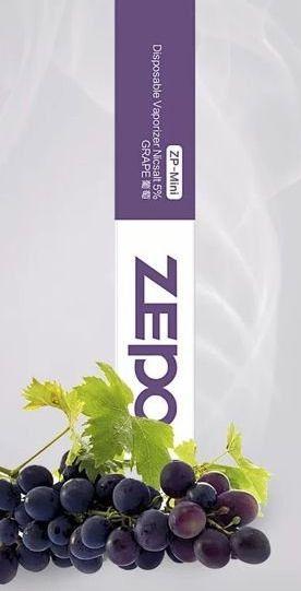 Pod descartável ZP Mini - Grape -Zepo