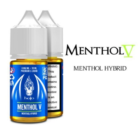 Líquido Halo - Menthol V (Menthol Hybrid)