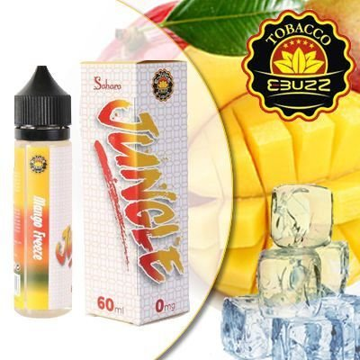 Líquido Sahara - Jungle - Mango Freeze