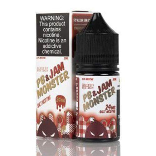 Líquido Strawberry Salt - JAM MONSTER