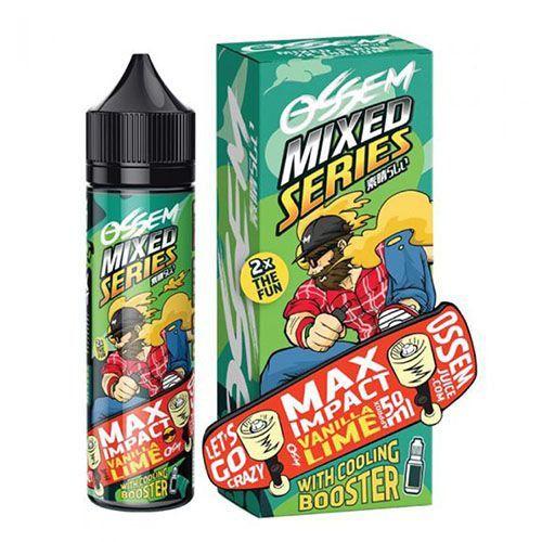 Líquido Max Impact Vanilla Lime - Mixed Series - OSSEM JUICE