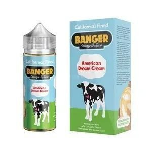 Líquido Banger Creamy E-juice - American Dream Cream